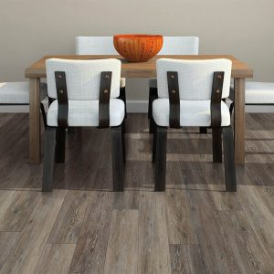 Small dining table on floor | Assured Flooring