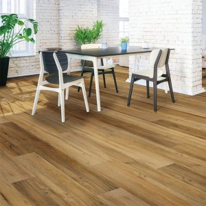 Table and chairs on floor | Assured Flooring