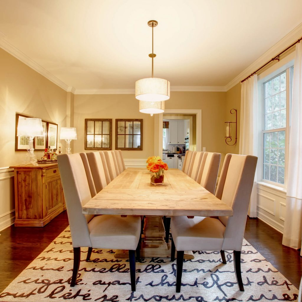 Dining room interior | Assured Flooring