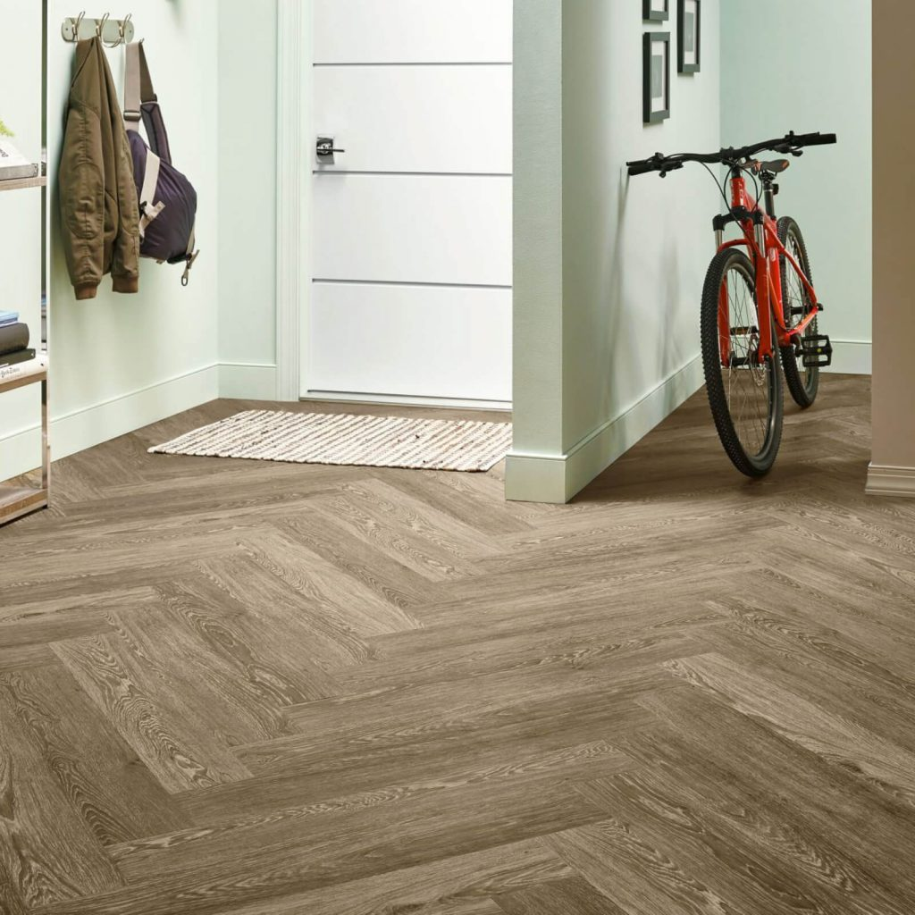 Bicycle on flooring | Assured Flooring