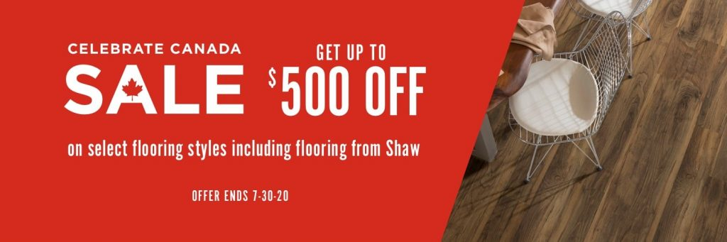 Celebrate Canada Sale | Assured Flooring