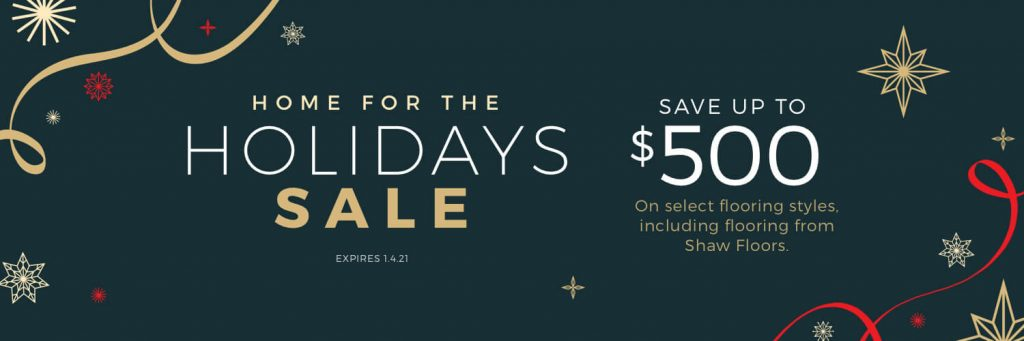 Home For the holiday sale | Assured Flooring