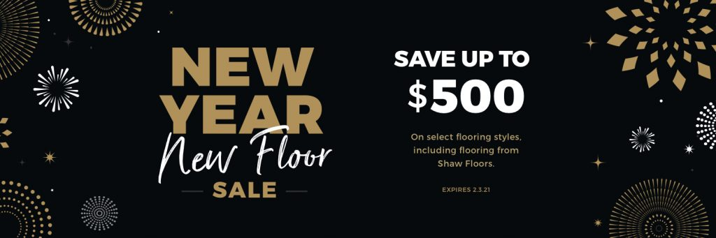 New Year New Floors Sale | Assured Flooring