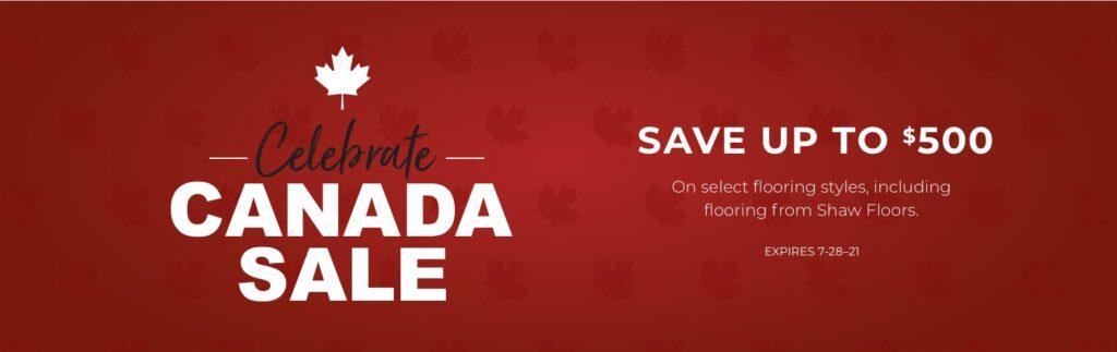 Celebrate Canada Sale