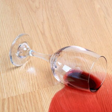Red wine spill on Laminate flooring | Assured Flooring
