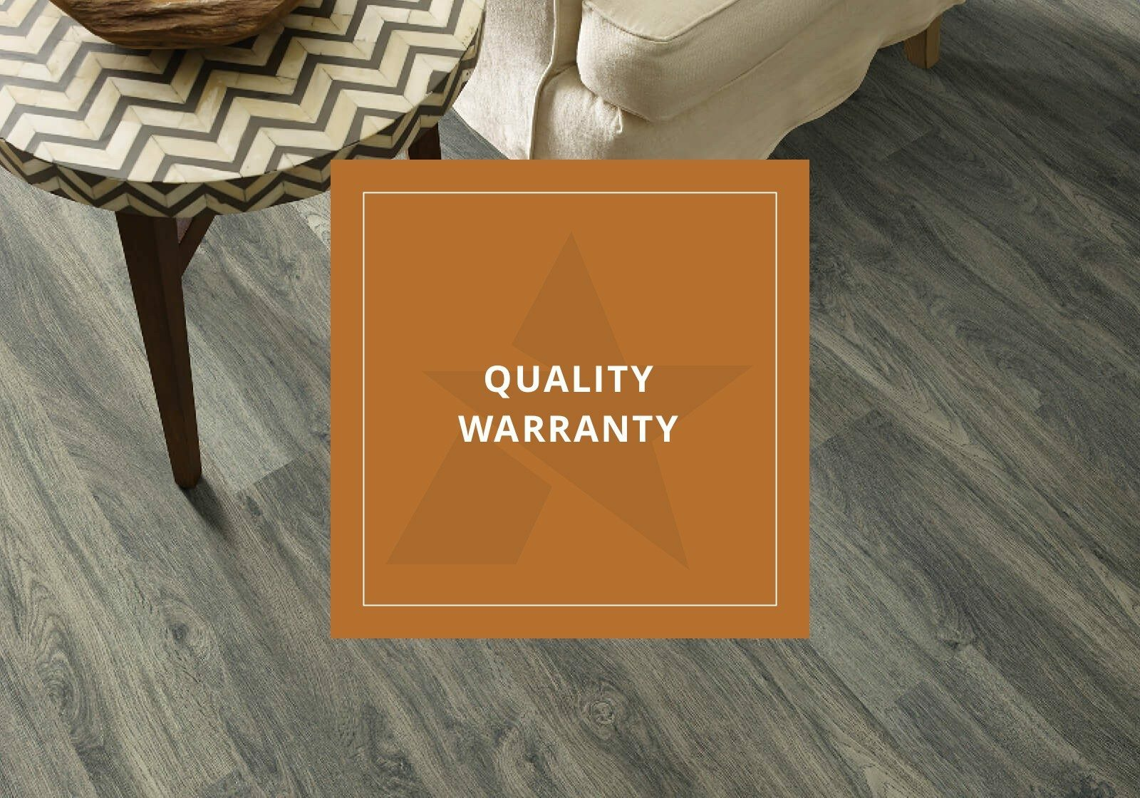 Quality warranty logo | Assured Flooring